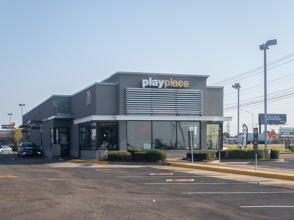 Awnex - Architectural Canopies - McDonald's - Montgomery, Alabama