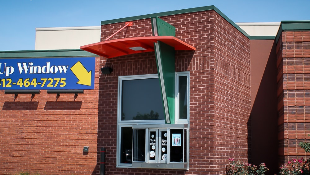 Awnex - Drive Thru Canopy - Eat-N-Park - Pittsburgh, Pennsylvania