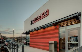 Airfoil Sunshade Canopies - Chipotle - Covington, Kentucky