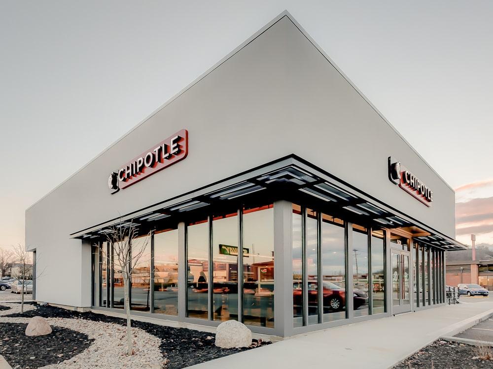 Airfoil Sunshade Canopies - Chipotle - Covington, Kentucky