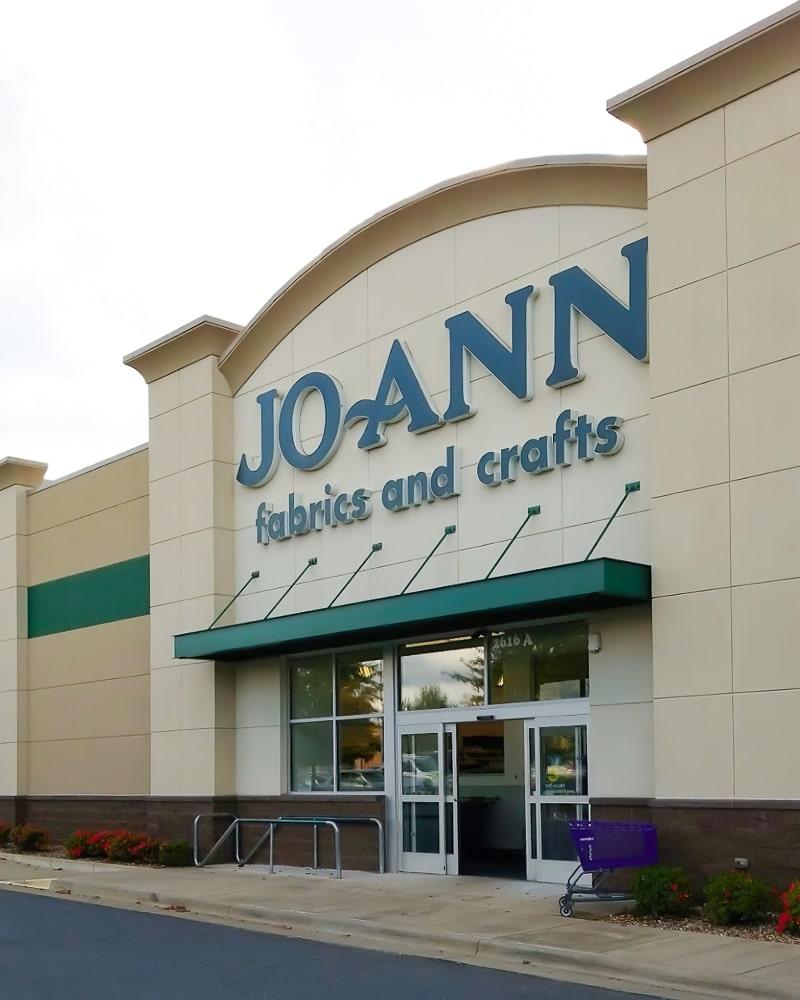 Aluminum Architectural Hanger Rod Canopies - Joann Fabrics and Crafts - Little Rock, Arkansas