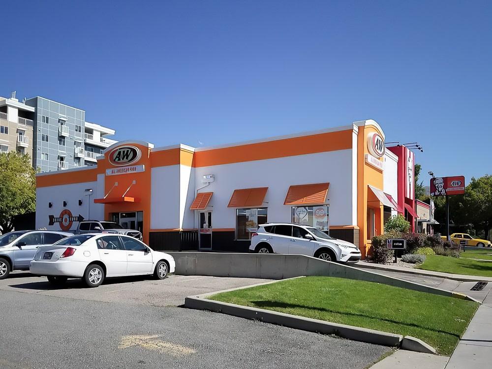 Aluminum Bahama Shutters - KFC/A&W - Salt Lake City, Utah