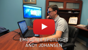 Employee Spotlight - Andy Johansen
