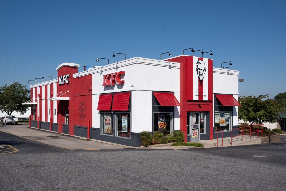 Awnex - Aluminum Bahama Shutters - KFC - Cumming, Georgia