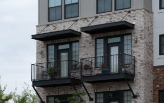 Awnex - Architectural Canopies - Bluebird Row - Chattanooga, Tennessee