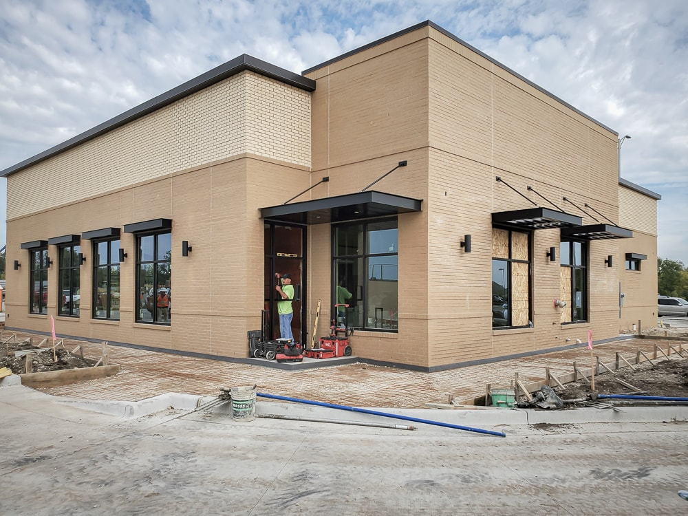 Awnex - Architectural Canopies - Chick-Fil-A - Midlothian, Illinois