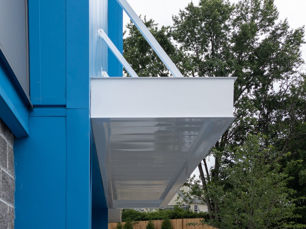 Awnex - Architectural Canopies - Columbia Self Storage - Clifton, New Jersey