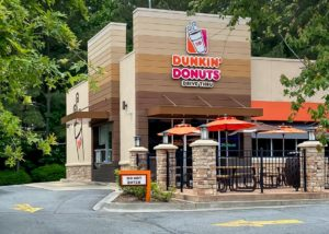 Awnex - Architectural Canopies - Dunkin' Donuts - Kennesaw, Georgia