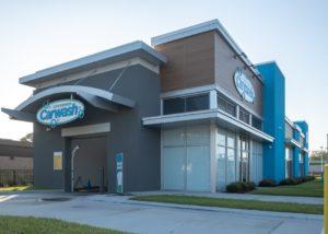 Awnex - Architectural Canopies - Gate Express Car Wash - Jacksonville, Florida