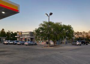 Awnex - Architectural Canopies - McDonald's - Breaux Bridge, Louisiana