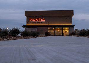 Awnex - Architectural Canopy - Panda-Express - Prosper, Texas