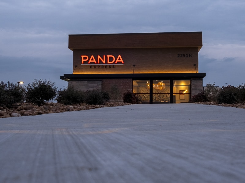 Awnex - Architectural Canopy - Panda-Express - Prosper, Texas