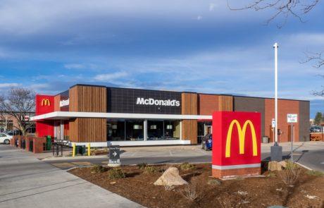 Awnex - Cantilever Architectural Canopies -McDonald's - Boulder, Colorado