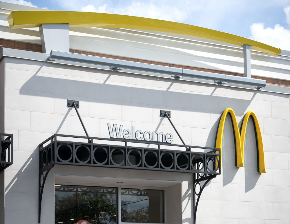 Awnex - Custom Architectural Canopies - McDonald's - Winter Park, Florida