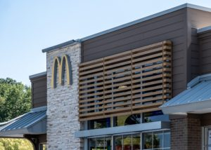 Awnex-Featured-Architectural-wall-screens-Project-McDonald's-Alpharetta-Georgia