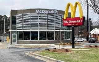 Awnex - Featured Architectural Wall Screens Project - McDonald's - Oklahoma City, Oklahoma