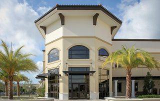 Awnex Featured Project - Aluminum Pergola - Gries Center - Tampa, Florida
