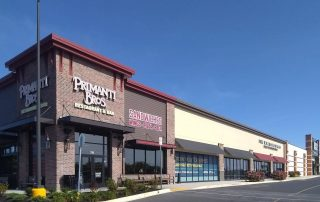 Awnex Featured Project - Architectural Gutter Canopies - Primanti Bros - Camp Hill, Pennsylvania