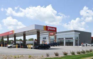 Awnex Featured Project - Architectural Gutter Canopies - Pilot - Bensenville, Illinois