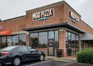 Awnex - prefabricated Architectural canopies - Mod Pizza - Fairfax, Virginia