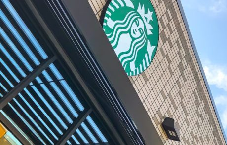 Awnex - Prefabricated Architectural Canopies -Starbucks - North Olmstead, Ohio