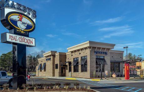 Awnex - Shutter Awnings - Zaxby's - Helena, Alabama
