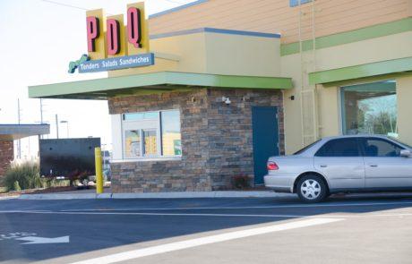 Awnex -Drive Thru Canopy - PDQ - Cedar Park - Texas
