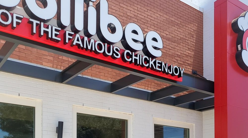 Awnex - prefabricated Architectural canopies - Jollibee - Plano - Texas