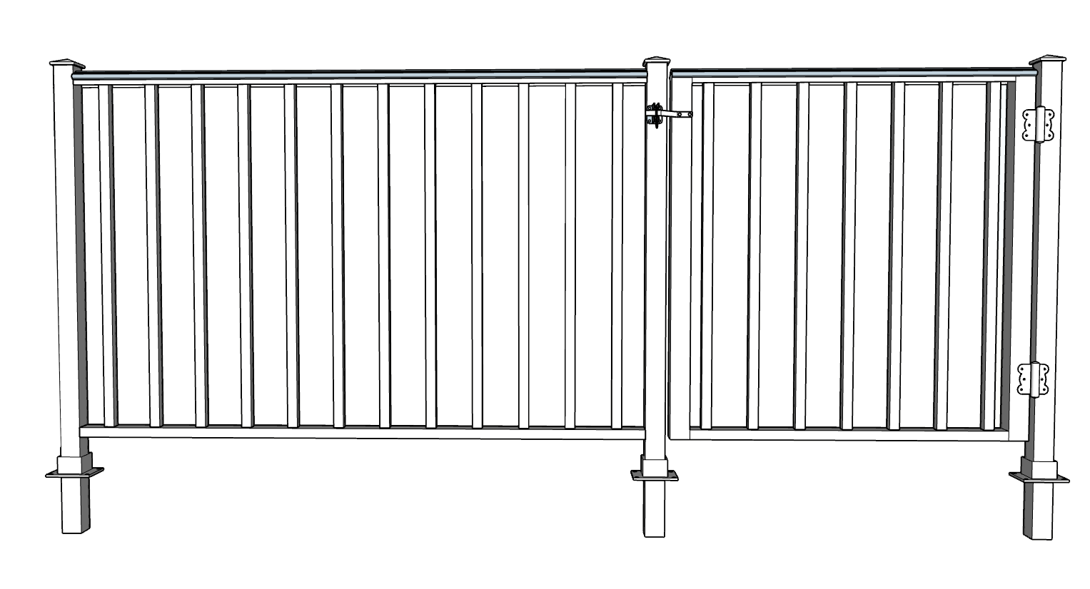 Colonial Decorative Fence System
