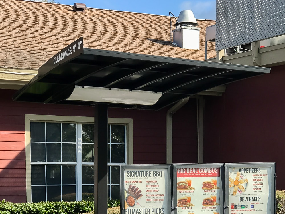 Drive Thru Speaker cover - Sonny's BBQ - Gainesville, Florida