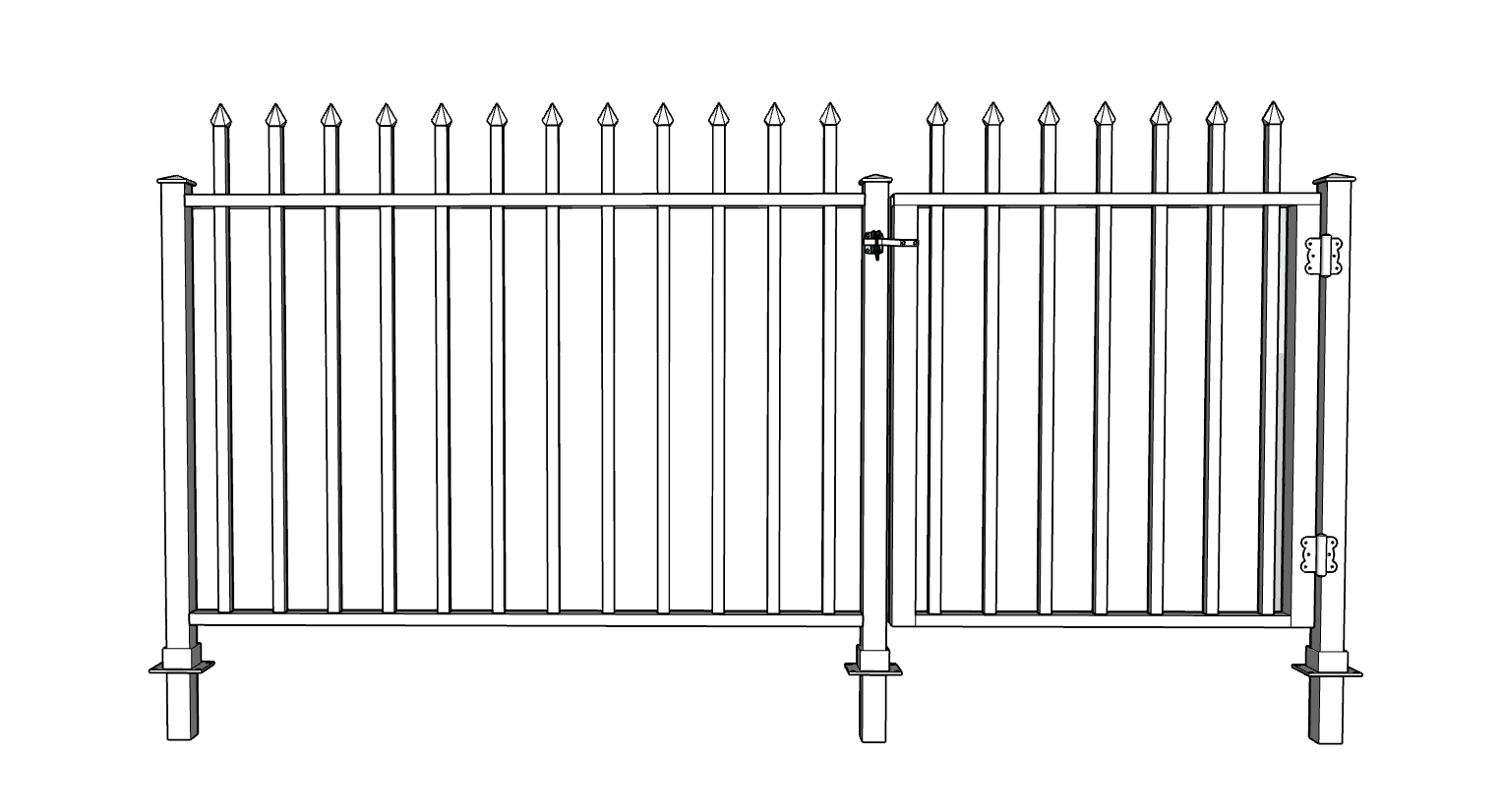 French Quarter Decorative Fence System