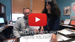 Employee Spotlight - Irene Wilkins